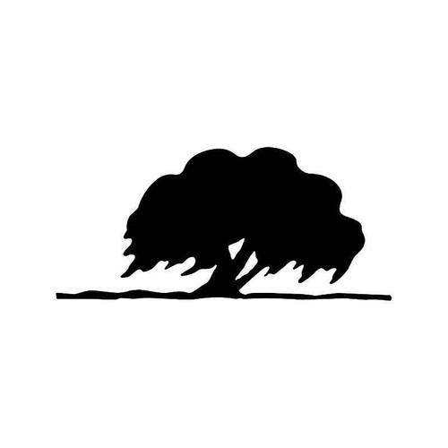 Oak Tree Vinyl Sticker