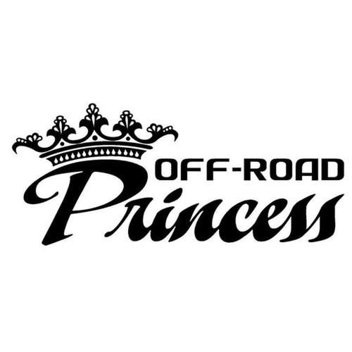 Off Road Princess 167 Vinyl Sticker