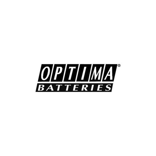 Optima Batteries Vinyl Sticker