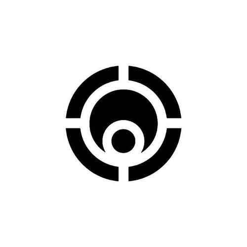 Osiris Circle Skate Logo 2 Vinyl Sticker