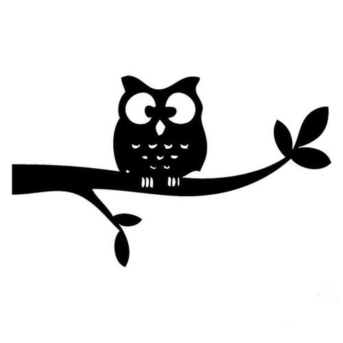 Owl 300 Vinyl Sticker