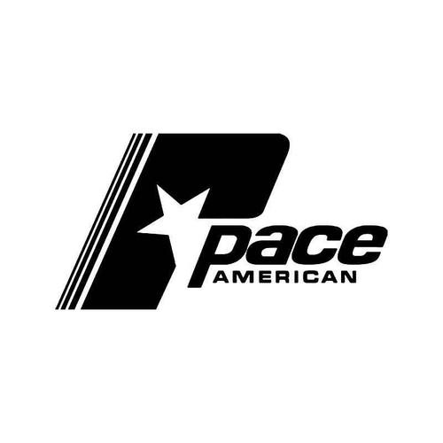 Pace American Vinyl Sticker