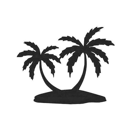 Palm Trees Beach Vacation Vinyl Sticker
