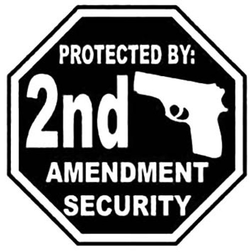 Protected By 2nd Amendment Security