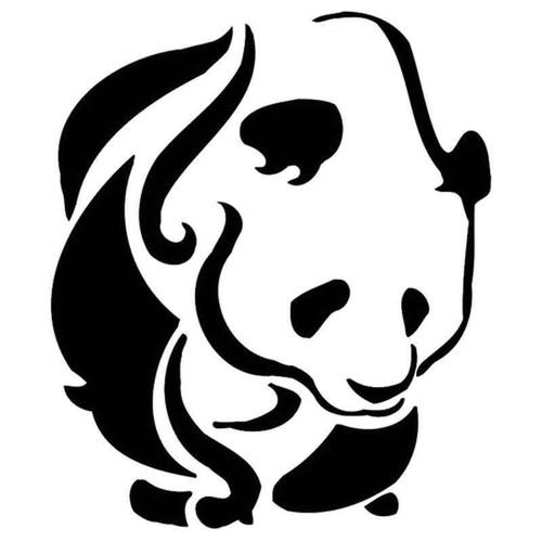 Panda 977 Vinyl Sticker