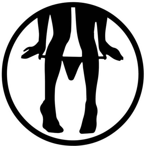 Panty Dropper 1953 Vinyl Sticker