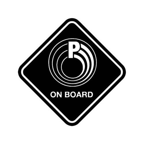 Para Ordnance On Board Gun Vinyl Sticker