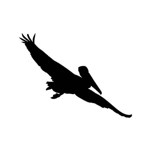 Pelican Bird Vinyl Sticker