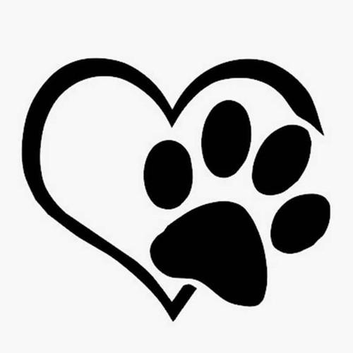 Pet Love He 1209 Vinyl Sticker