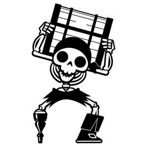 Pirate 877 Vinyl Sticker