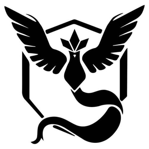 Pokemon Go Team Mystic Symbol 2019 Vinyl Sticker