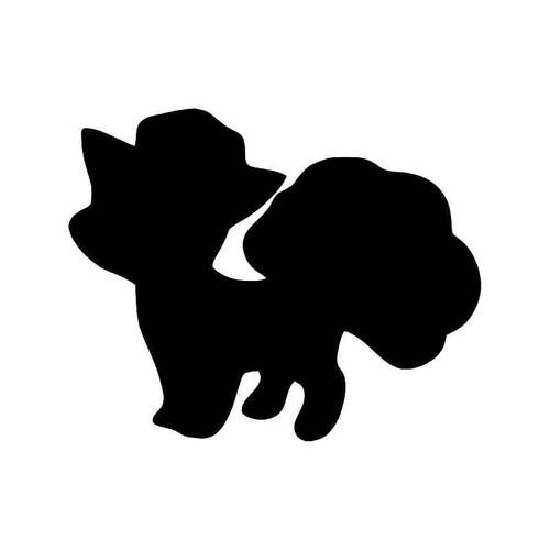 Pokemon Go Vulpix Gaming Vinyl Sticker