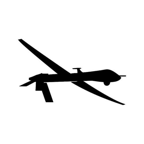 Predator Drone Vinyl Sticker