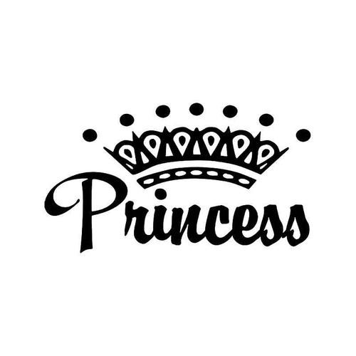 Princess Crown 2 Vinyl Sticker