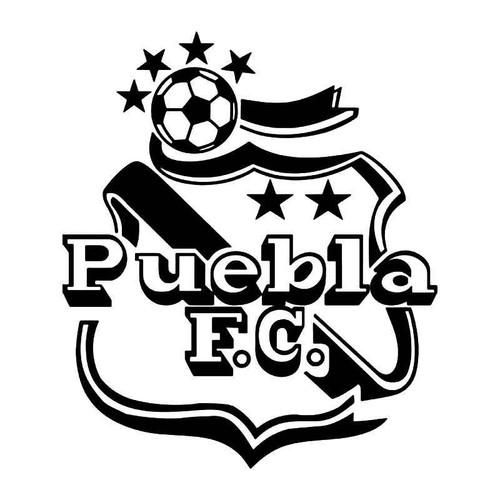 Puebla Mexico Soccer Futbol Vinyl Sticker