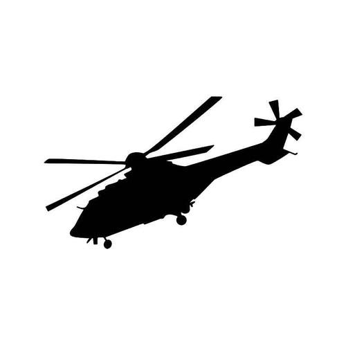 Puma Helicopter Vinyl Sticker