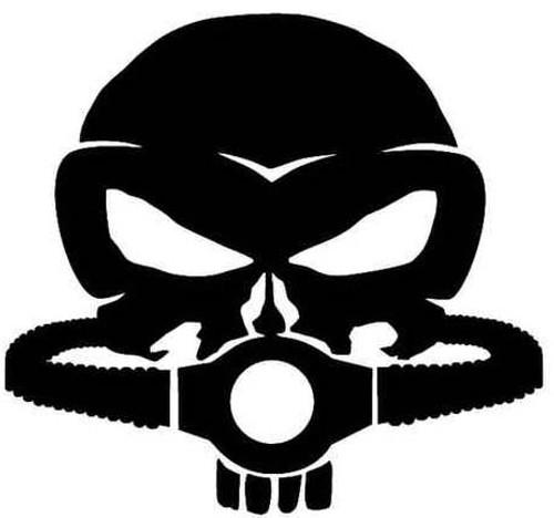 Punisher Skull Rebreather