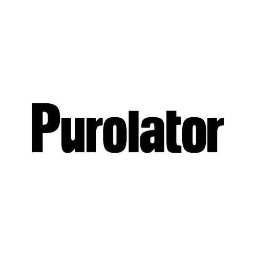 Purolator Vinyl Sticker