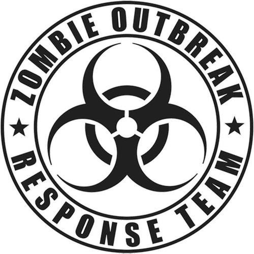 812 Zombie Outbreak Vinyl Sticker