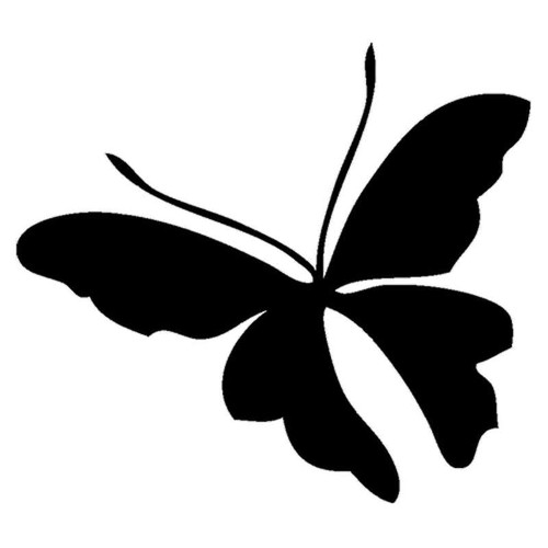 817 Butterfly Vinyl Sticker