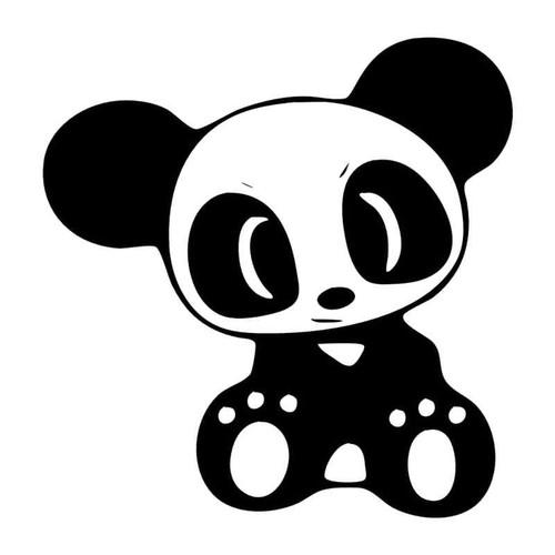 823 Panda Vinyl Sticker