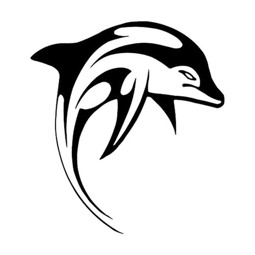 836 Dolphin Vinyl Sticker