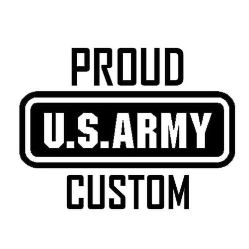 851 Army Proud Custom Vinyl Sticker
