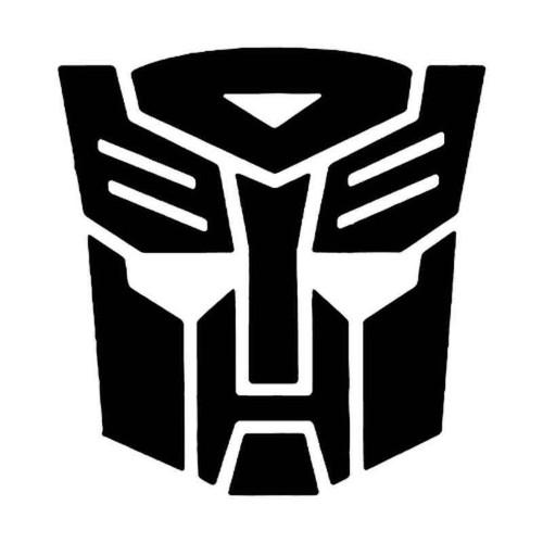 855 Transformers Vinyl Sticker