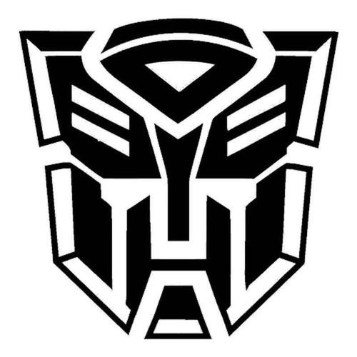 856 Transformers Vinyl Sticker