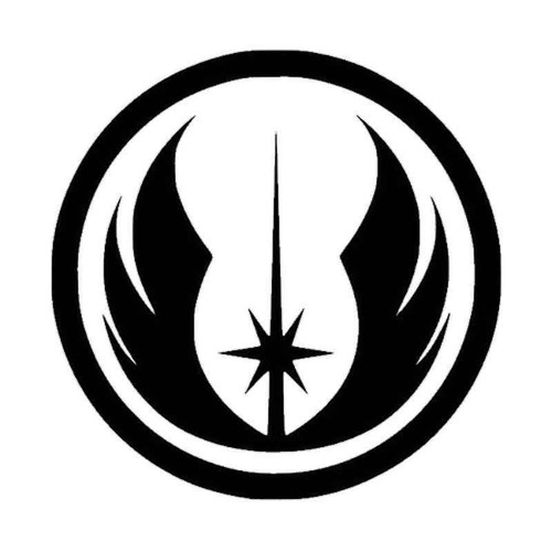 857 Star War Vinyl Sticker