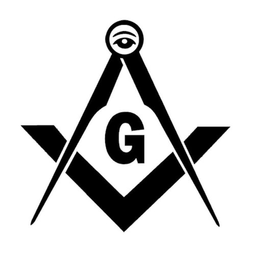 861 Grange Freemason Vinyl Sticker