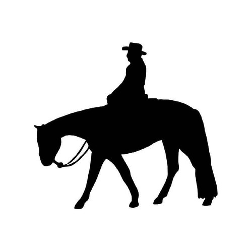 Quer Horse Horse Vinyl Sticker