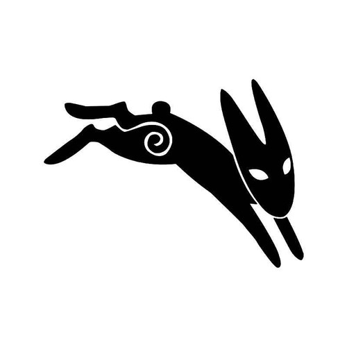 Rabbit Pirity Vinyl Sticker