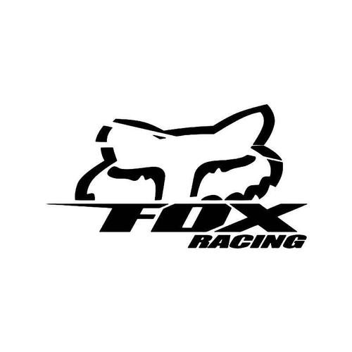 Racing Fox 2 Vinyl Sticker