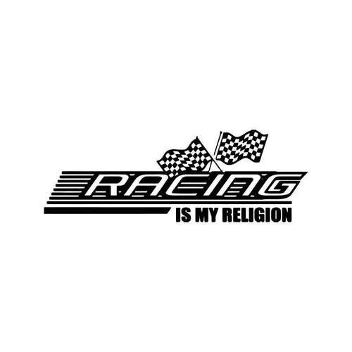 Racing Is My Religion Jdm Japanese Vinyl Sticker