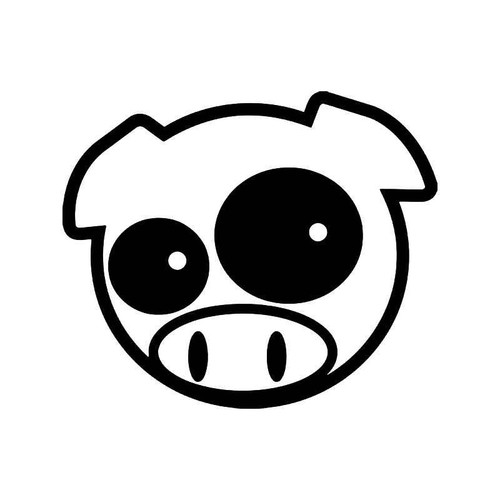 Rally Pig Jdm Japanese 3 Vinyl Sticker