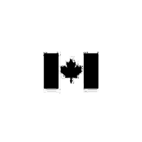 Canada Flag Decal Size option will determine the size from the longest side Industry standard high performance calendared vinyl film Cut from Oracle 651 2.5 mil Outdoor durability is 7 years Glossy surface finish
