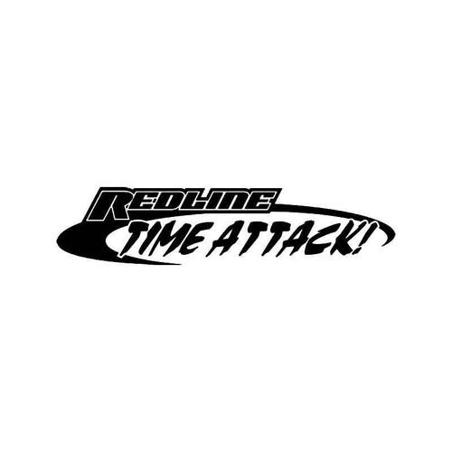 Redline Time Attack Vinyl Sticker