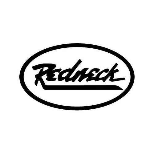 Redneck Hillbilly Vinyl Sticker