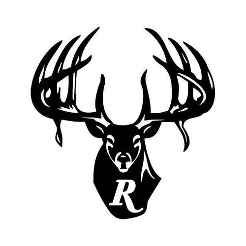 Remington Country Deer Buck Hunting 1 Vinyl Sticker