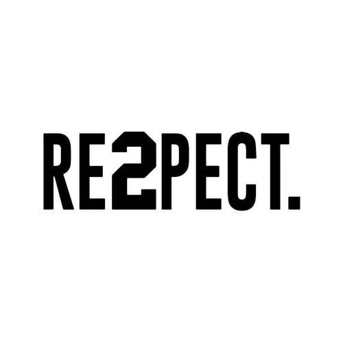Respect Derek Jeter Jersey 2 Vinyl Sticker