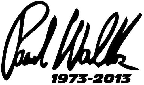 Paul Walker Signature