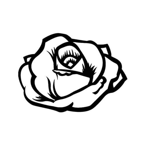 Rose Flower 7 Vinyl Sticker