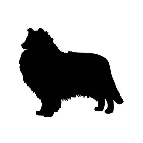 Rough Collie Dog 1 Vinyl Sticker