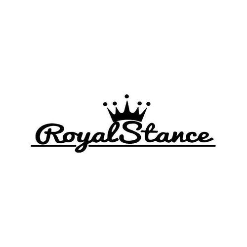 Royal Stance Jdm Japanese 1 Vinyl Sticker