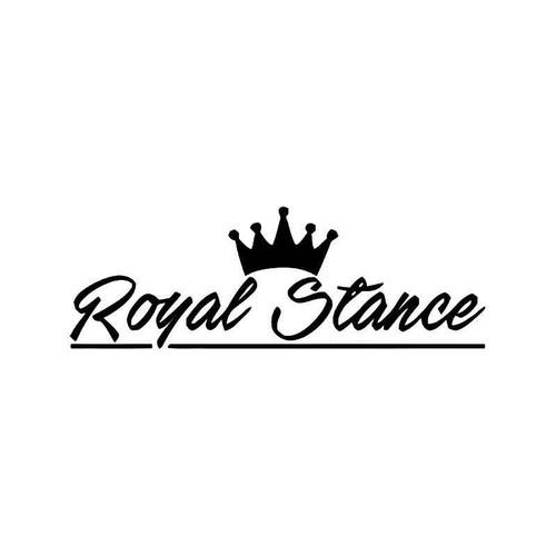Royal Stance Jdm Japanese 2 Vinyl Sticker