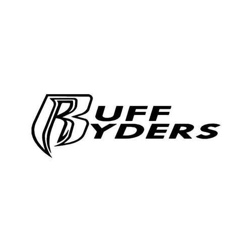 Ruff Ryders Vinyl Sticker