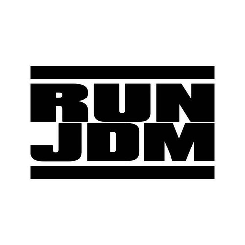 Run Jdm Japanese Vinyl Sticker