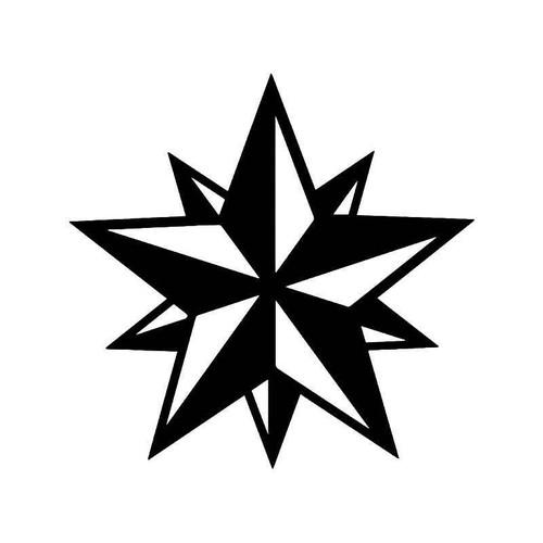 Russia Star Vinyl Sticker