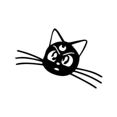 Sailor Moon Luna Cat Vinyl Sticker